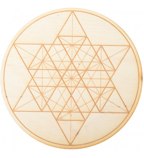 Geometric Star Crystal Grid in 3 Sizes at All Wicca Store Magickal Supplies, Wiccan Supplies, Wicca Books, Pagan Jewelry, Altar Statues