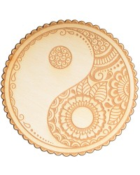 Yin Yang Crystal Grid for Balance