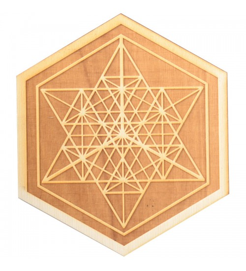 Mekaba Wood Crystal Grid in 3 Sizes at All Wicca Store Magickal Supplies, Wiccan Supplies, Wicca Books, Pagan Jewelry, Altar Statues