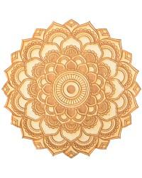 Lotus Mandala Crystal Grid for Spiritual Growth