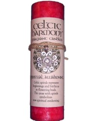 Celtic Harmony Spiritual Awakening Candle with Pendant All Wicca Magickal Supplies Wiccan Supplies, Wicca Books, Pagan Jewelry, Altar Statues