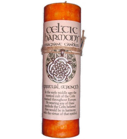 Celtic Harmony Spiritual Strength Candle with Pendant at All Wicca Store Magickal Supplies, Wiccan Supplies, Wicca Books, Pagan Jewelry, Altar Statues