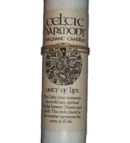 Celtic Harmony Unity of Life Candle with Pendant at All Wicca Store Magickal Supplies, Wiccan Supplies, Wicca Books, Pagan Jewelry, Altar Statues