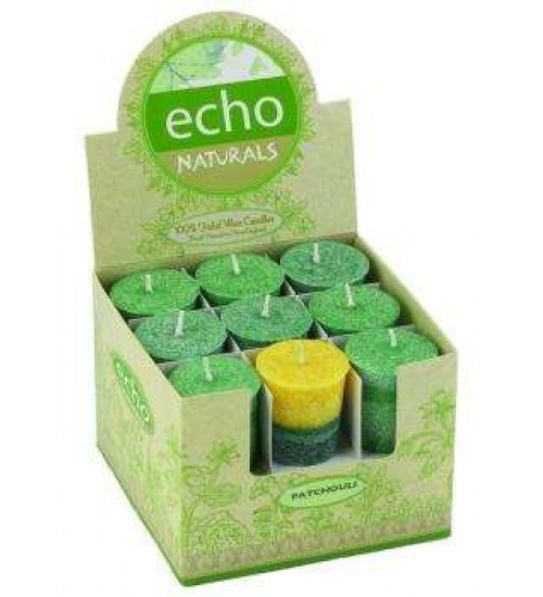 Echo Natural Unscented Votive Candles at All Wicca Store Magickal Supplies, Wiccan Supplies, Wicca Books, Pagan Jewelry, Altar Statues