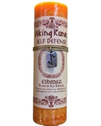 Eiwaz Self Defense Viking Rune Amulet Candle All Wicca Magickal Supplies Wiccan Supplies, Wicca Books, Pagan Jewelry, Altar Statues