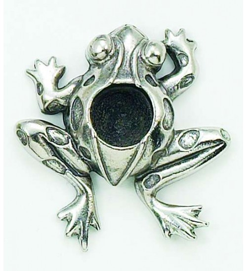 Frog Mini Candle Holder at All Wicca Store Magickal Supplies, Wiccan Supplies, Wicca Books, Pagan Jewelry, Altar Statues