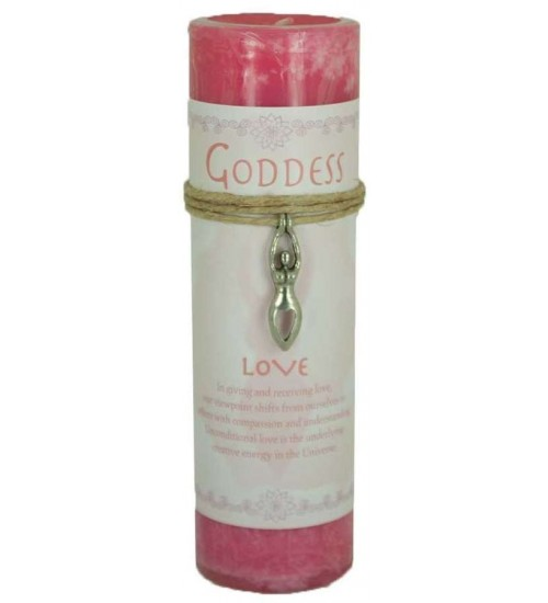 Goddess Love Spell Candle with Amulet Pendant at All Wicca Store Magickal Supplies, Wiccan Supplies, Wicca Books, Pagan Jewelry, Altar Statues