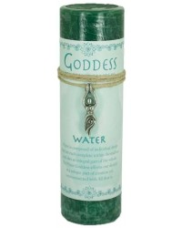Goddess Water Spell Candle with Amulet Pendant All Wicca Store Magickal Supplies Wiccan Supplies, Wicca Books, Pagan Jewelry, Altar Statues