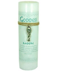 Goddess Moon Spell Candle with Amulet Pendant All Wicca Store Magickal Supplies Wiccan Supplies, Wicca Books, Pagan Jewelry, Altar Statues