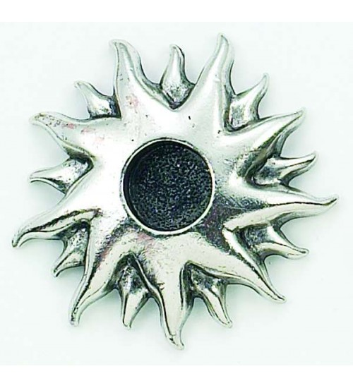 Sun Mini Candle Holder at All Wicca Store Magickal Supplies, Wiccan Supplies, Wicca Books, Pagan Jewelry, Altar Statues