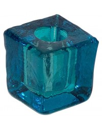 Turquoise Glass Mini Candle Holder All Wicca Store Magickal Supplies Wiccan Supplies, Wicca Books, Pagan Jewelry, Altar Statues