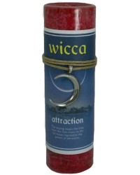 Wicca Attraction Spell Candle with Amulet Pendant All Wicca Store Magickal Supplies Wiccan Supplies, Wicca Books, Pagan Jewelry, Altar Statues