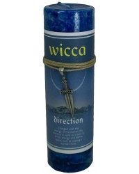 Wicca Direction Spell Candle with Amulet Pendant All Wicca Store Magickal Supplies Wiccan Supplies, Wicca Books, Pagan Jewelry, Altar Statues