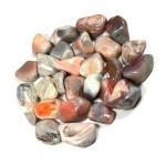 Botswana Agate Tumbled Stones - 1 Pound Pack