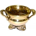 Brass Cauldron Incense Burner