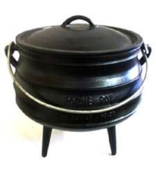Cast Iron Potjie Cauldron - 93 oz. Size 3/4