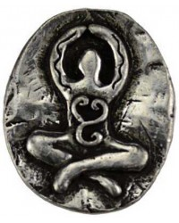 Goddess Pewter Pocket Charm All Wicca Magickal Supplies Wiccan Supplies, Wicca Books, Pagan Jewelry, Altar Statues