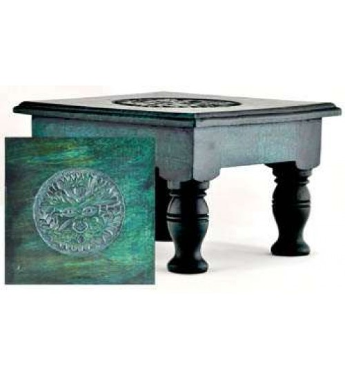 Greenman Wood Altar Table at All Wicca Store Magickal Supplies, Wiccan Supplies, Wicca Books, Pagan Jewelry, Altar Statues