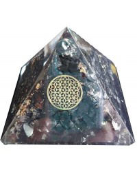 Shungite Flower of Life Orgone Pyramid All Wicca Store Magickal Supplies Wiccan Supplies, Wicca Books, Pagan Jewelry, Altar Statues