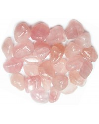 Rose Quartz Tumbled Stones - 1 Pound Pack All Wicca Store Magickal Supplies Wiccan Supplies, Wicca Books, Pagan Jewelry, Altar Statues