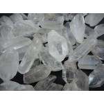 Clear Quartz Rough Crystal Points - 3 Pound Pack
