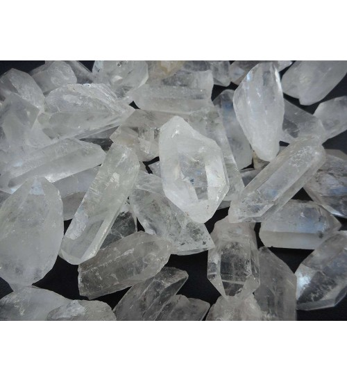 Clear Quartz Rough Crystal Points - 3 Pound Pack at All Wicca Magickal Supplies, Wiccan Supplies, Wicca Books, Pagan Jewelry, Altar Statues