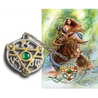 Elemental Earth Talisman and Greeting Card