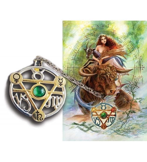 Elemental Earth Talisman and Greeting Card at All Wicca Store Magickal Supplies, Wiccan Supplies, Wicca Books, Pagan Jewelry, Altar Statues