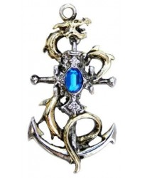 Drake Leviathan Necklace for Luck All Wicca Magickal Supplies Wiccan Supplies, Wicca Books, Pagan Jewelry, Altar Statues