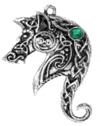 Lyonesse Horse Celtic Necklace All Wicca Magickal Supplies Wiccan Supplies, Wicca Books, Pagan Jewelry, Altar Statues
