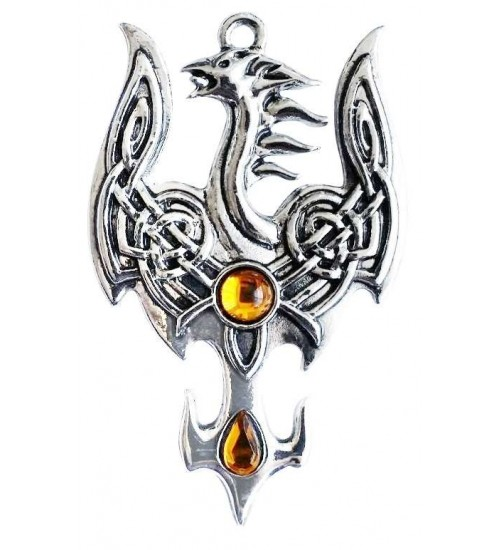 Avalonian Phoenix Necklace at All Wicca Store Magickal Supplies, Wiccan Supplies, Wicca Books, Pagan Jewelry, Altar Statues