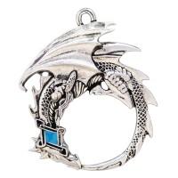 Ouroborous Dragon Eternity Necklace