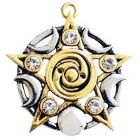Star of Skelling Pentagram Necklace