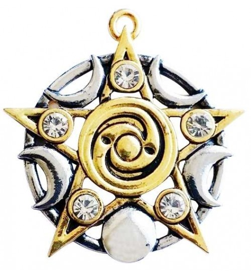Star of Skelling Pentagram Necklace at All Wicca Store Magickal Supplies, Wiccan Supplies, Wicca Books, Pagan Jewelry, Altar Statues