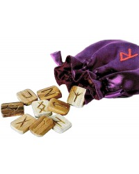 Wooden Runes in Pouch All Wicca Store Magickal Supplies Wiccan Supplies, Wicca Books, Pagan Jewelry, Altar Statues