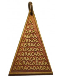 Abracadabra Charm for Good Fortune All Wicca Magickal Supplies Wiccan Supplies, Wicca Books, Pagan Jewelry, Altar Statues