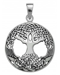 Druid Tree of LIfe Sterling Silver Pendant All Wicca Magickal Supplies Wiccan Supplies, Wicca Books, Pagan Jewelry, Altar Statues