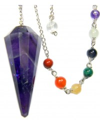 Amethyst Chakra Scrying Pendulum All Wicca Magickal Supplies Wiccan Supplies, Wicca Books, Pagan Jewelry, Altar Statues