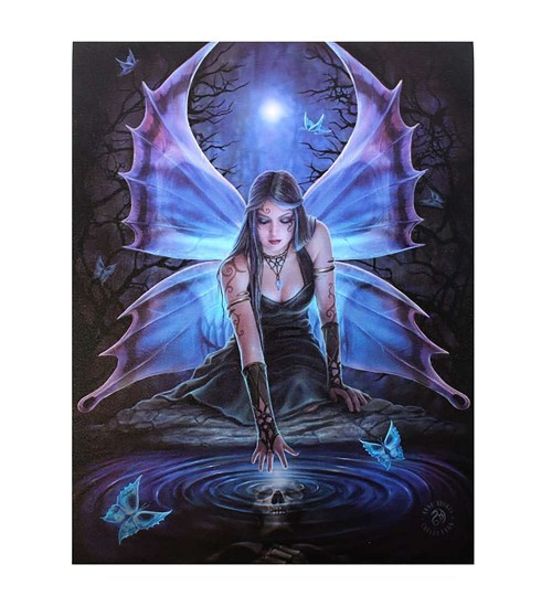Immortal Flight by Anne Stokes Canvas Art Print at All Wicca, Wiccan Altar Supplies, All Wicca Books, Pagan Jewelry, Wiccan Statues