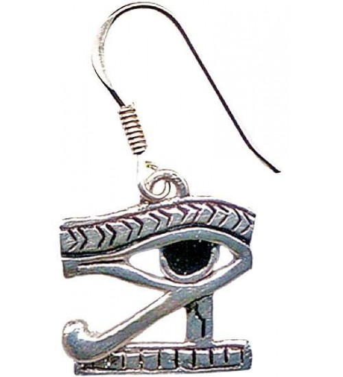 Eye of Horus Earrings for Protection at All Wicca Store Magickal Supplies, Wiccan Supplies, Wicca Books, Pagan Jewelry, Altar Statues