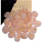 Rose Quartz Gemstone Runes