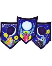 Triple Moon Goddess Prayer Flags All Wicca Magickal Supplies Wiccan Supplies, Wicca Books, Pagan Jewelry, Altar Statues