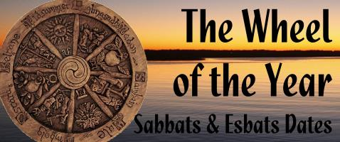 calendar of wiccan holidays - sabbats, esbats, wicca holy days