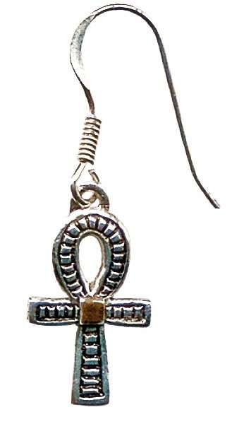 Ankh Earrings for Health, Prosperity and Long Life