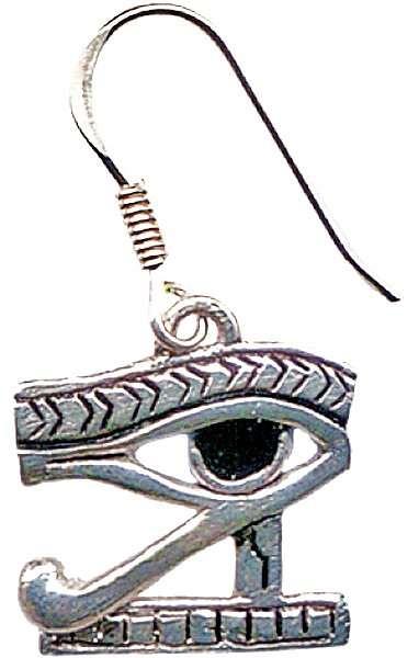 Eye of Horus Earrings for Protection